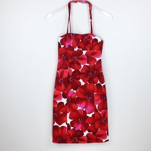 Guess   Floral Open Back Dress